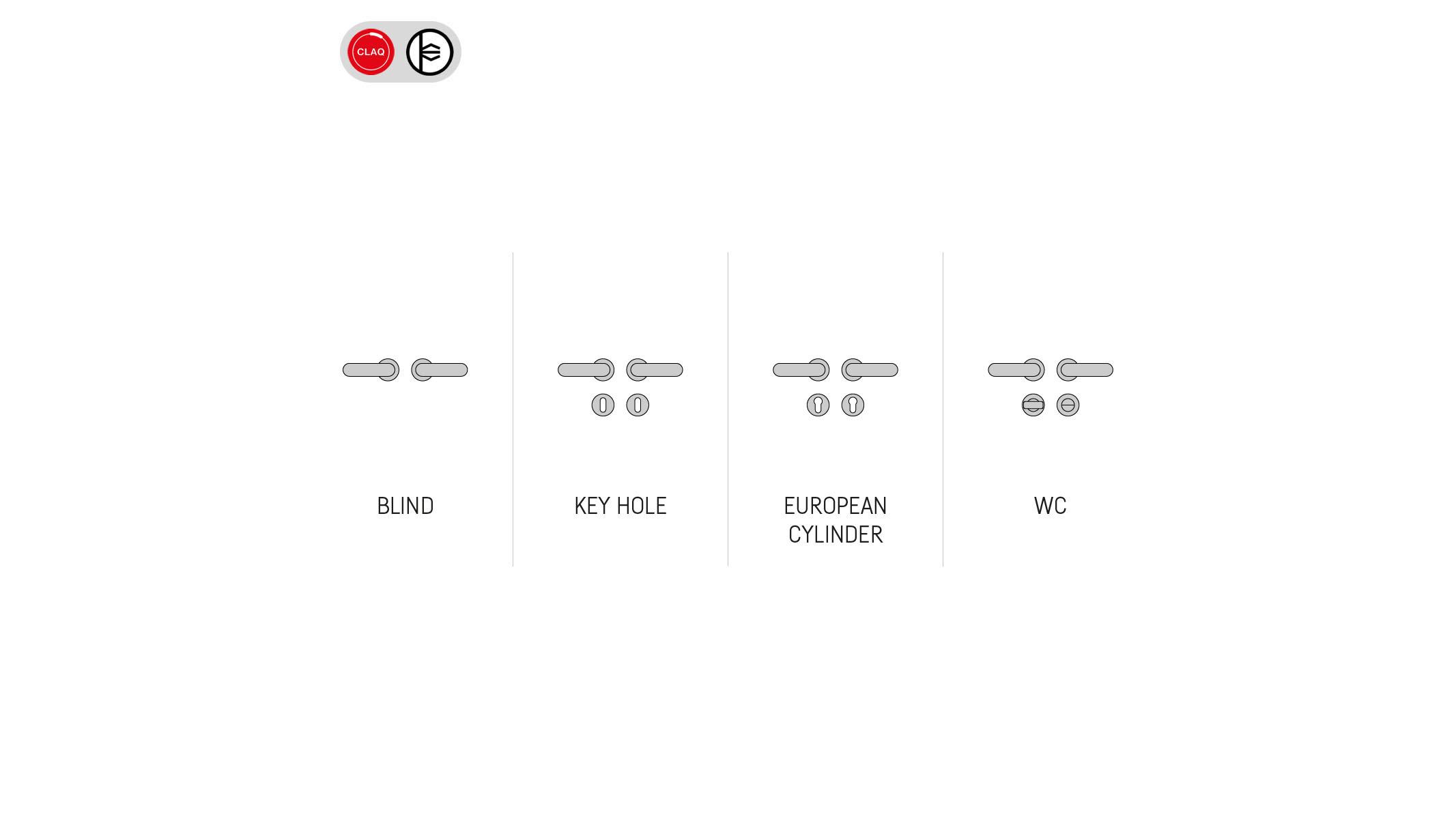 supporti configurazioni diam 40 easyclip