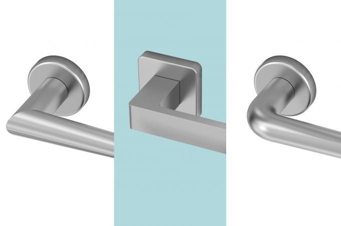 Griffe aus Stahl AISI316