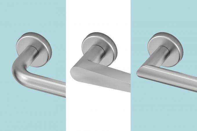 Griffe aus Stahl AISI304