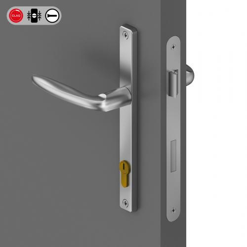 Placca alluminio 24x236mm CLAQ®